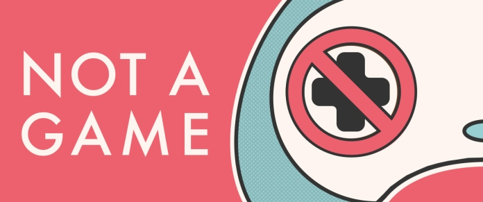 Not a Game - Logo - Web